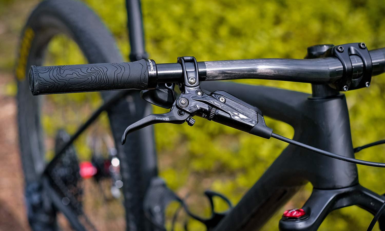 Beast MTB Flatbar 2.0 Riser Bars 2.0, lightweight reinforced carbon mountain bike handlebars