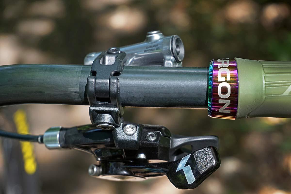 Beast MTB Flatbar 2.0 Riser Bars 2.0, lightweight reinforced carbon mountain bike handlebars,SRAM matchmaker