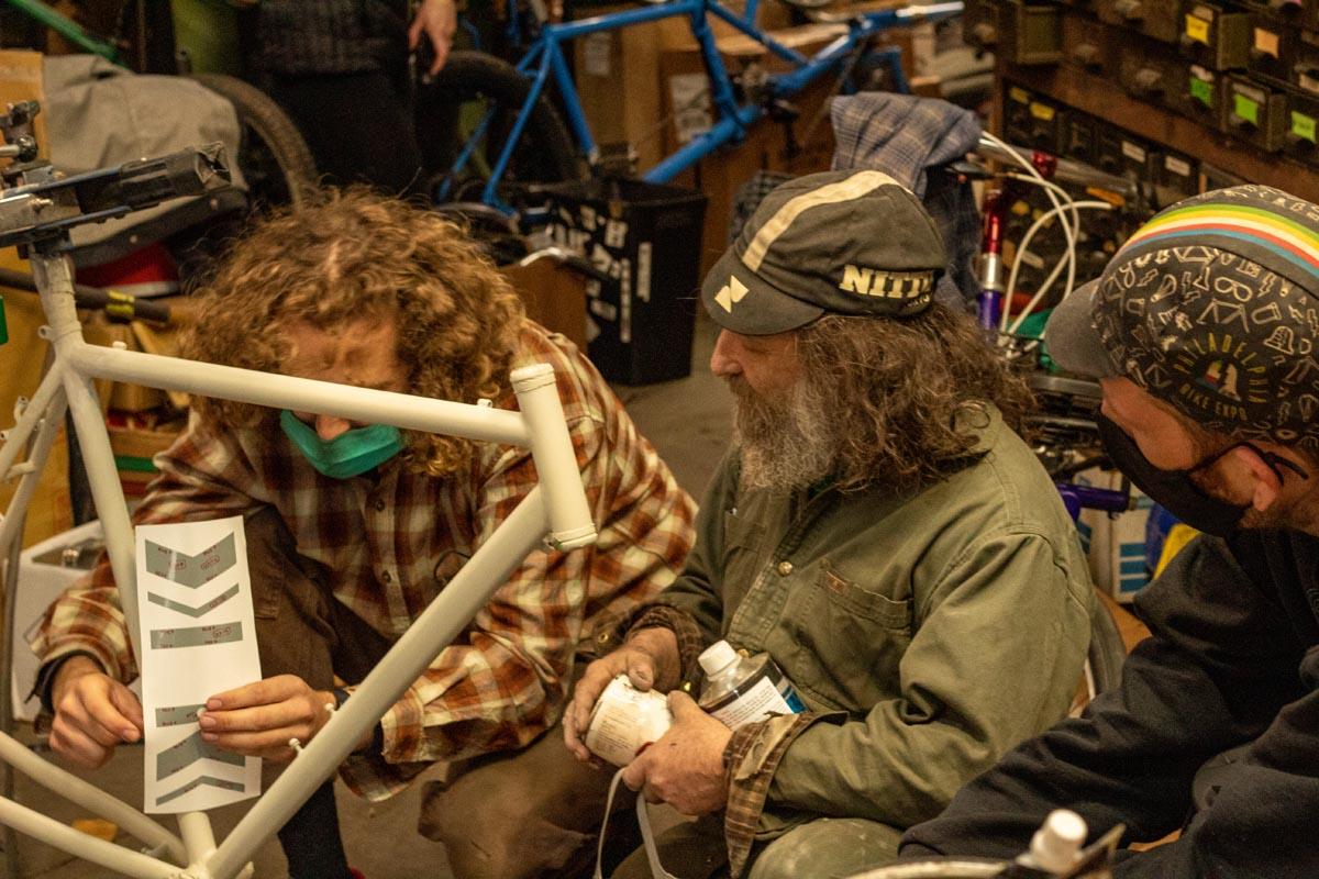 Bilenky Cycle Works custom bike for Boris Johnson as a gift from Joe Biden