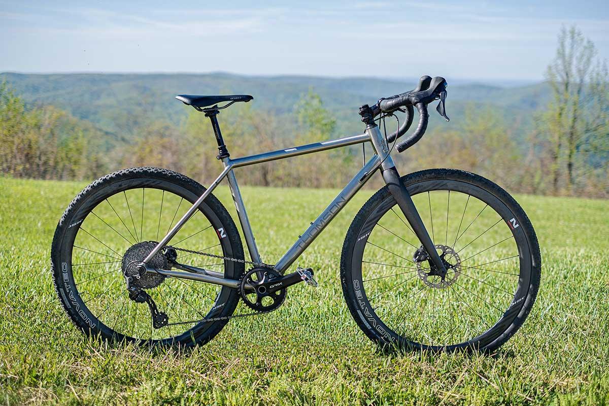 thomson piedmont ttanium gravel bike bikepacking