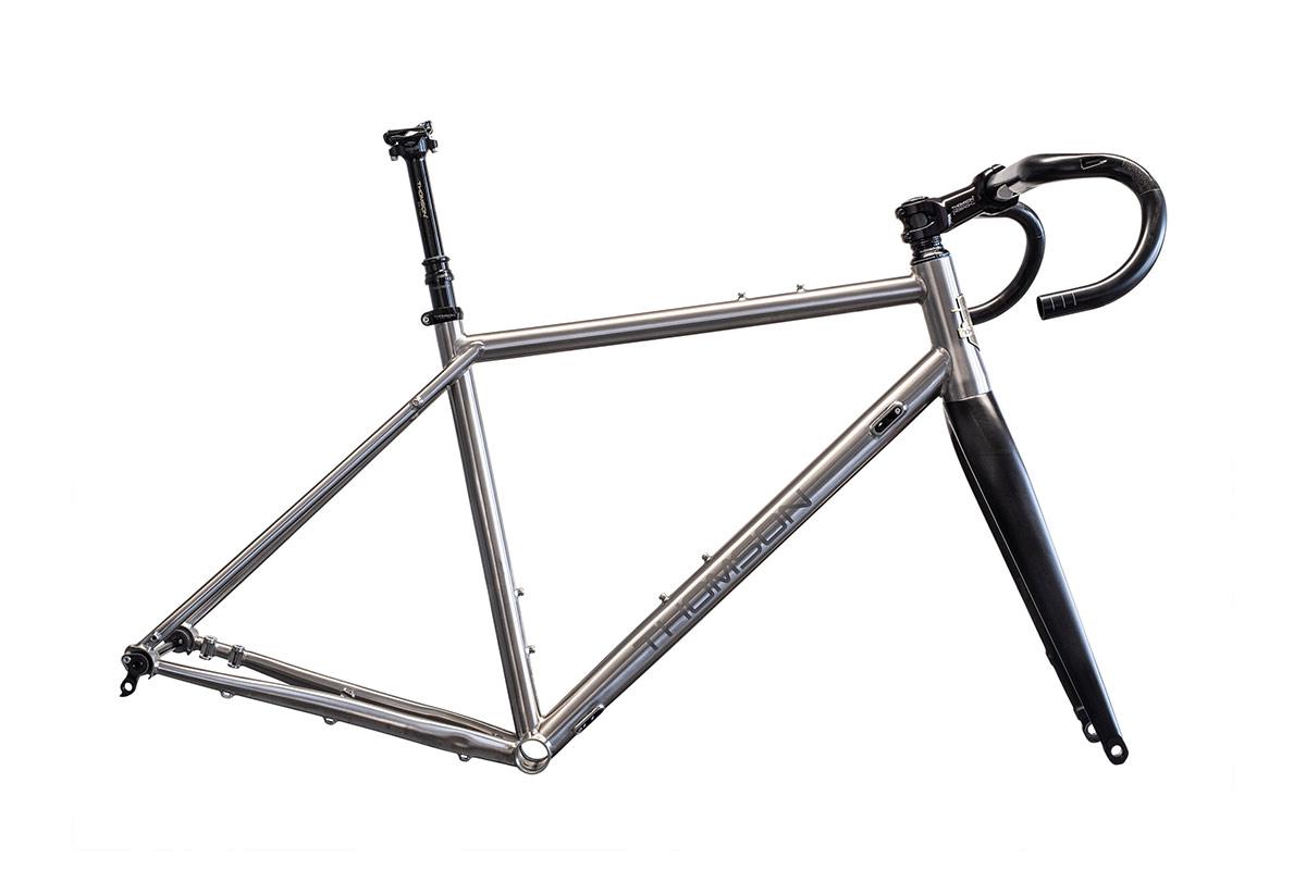 thomson piedmont titanium gravel frameset build kits available