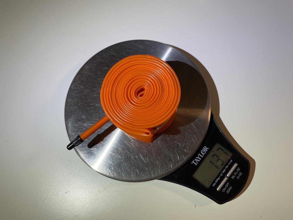 Tubolito X-Tubo City/Tour inner tube weight