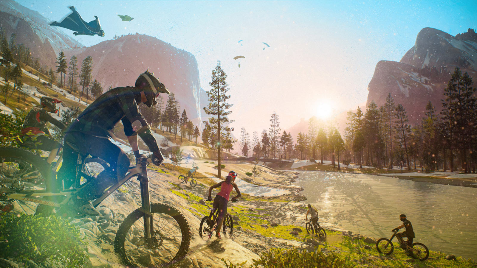 riders republic mountain bike video game for xbox and playstation