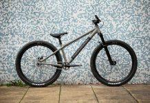 "cannondale dave dirt jump bike 26"" wheel alloy frame"