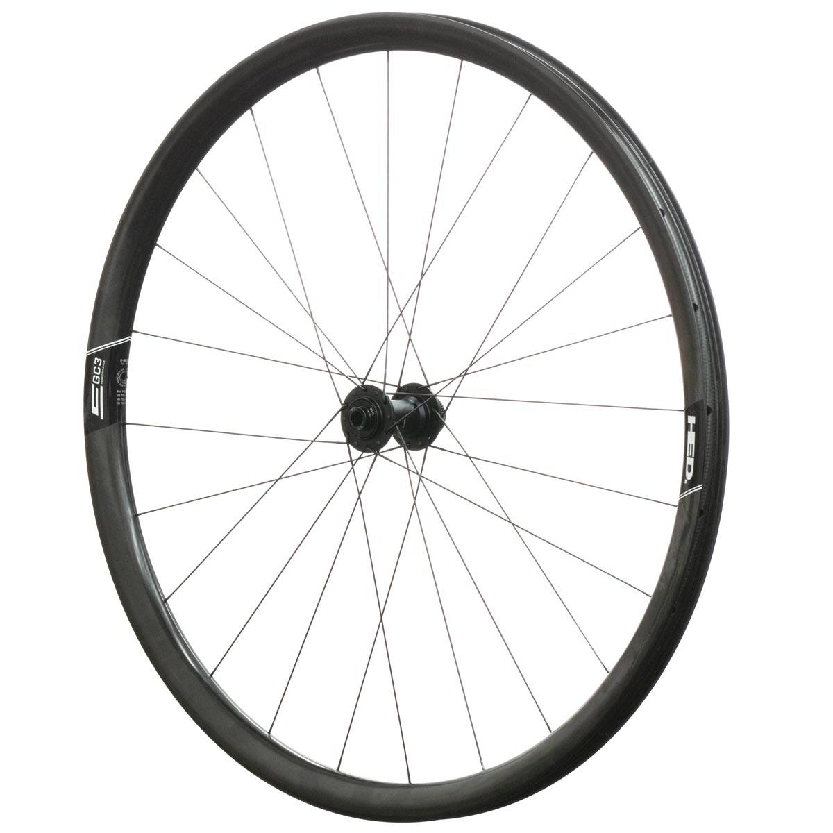 HED Emporia GC3 Performance wheelset front