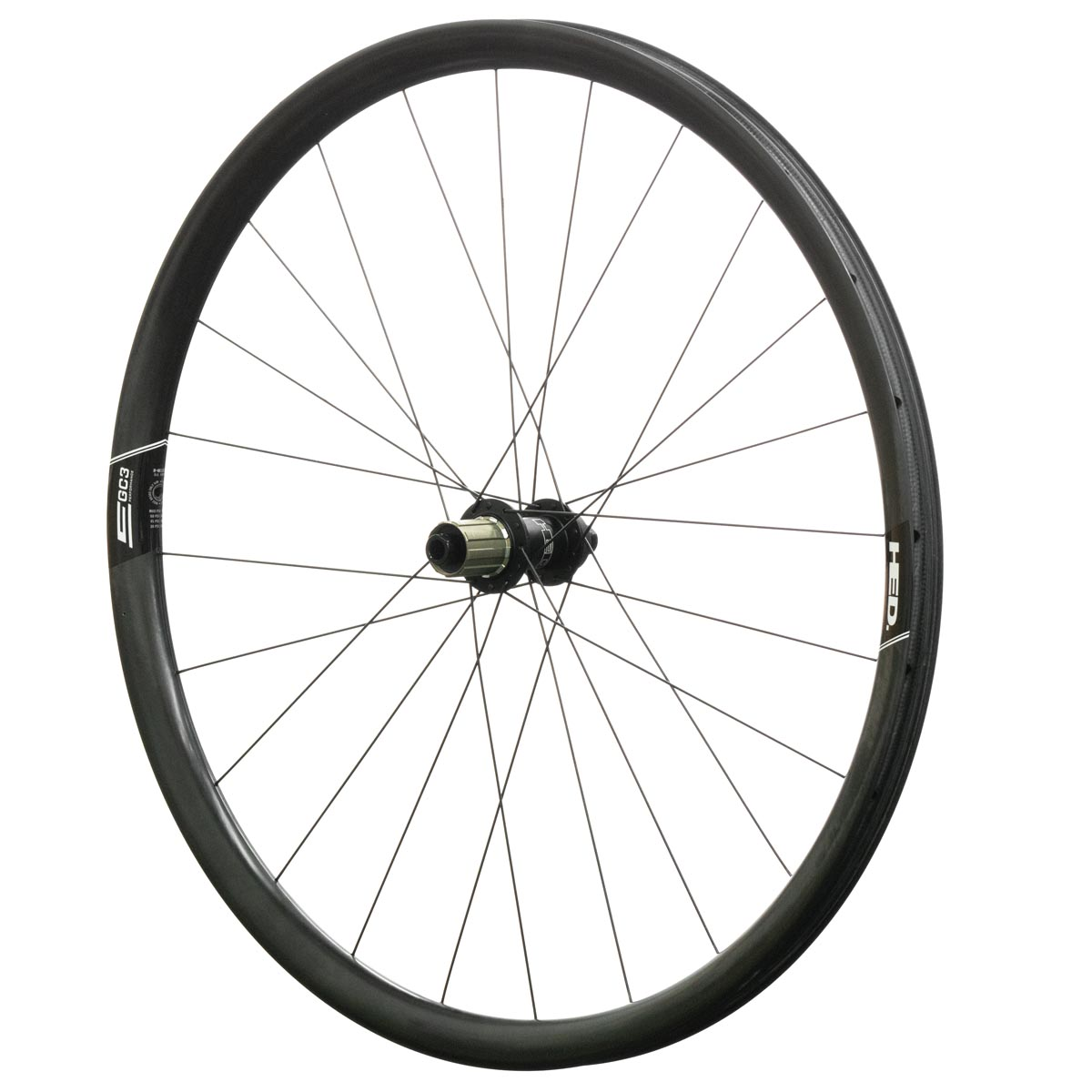 HED Emporia GC3 Performance wheelset rear
