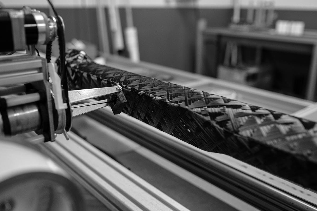3T Italian frameset production with filament winding