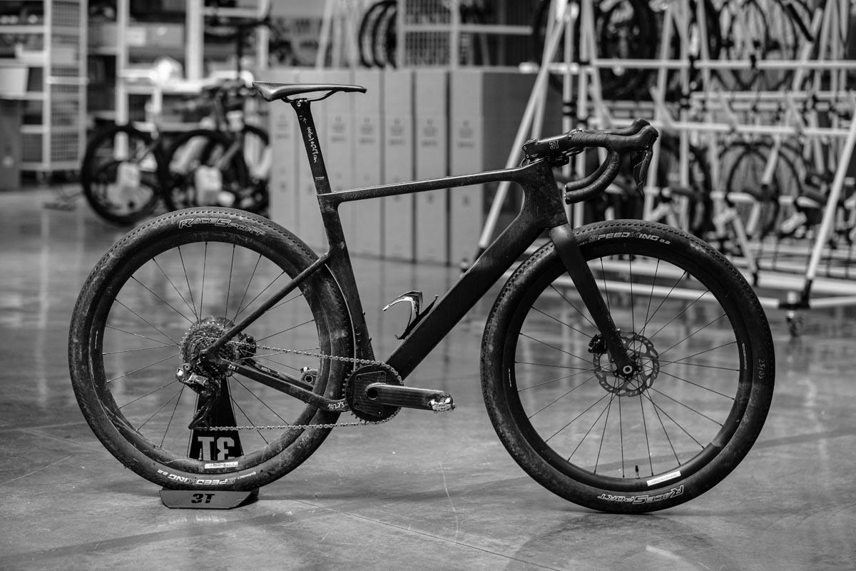 3T Italian frameset production complete bike