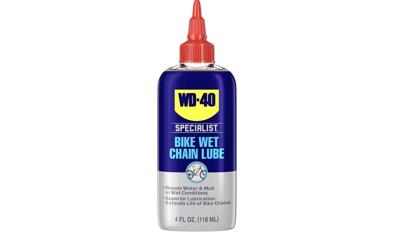 WD40 Specialist Bike Wet Chain Lube best bike chain lube