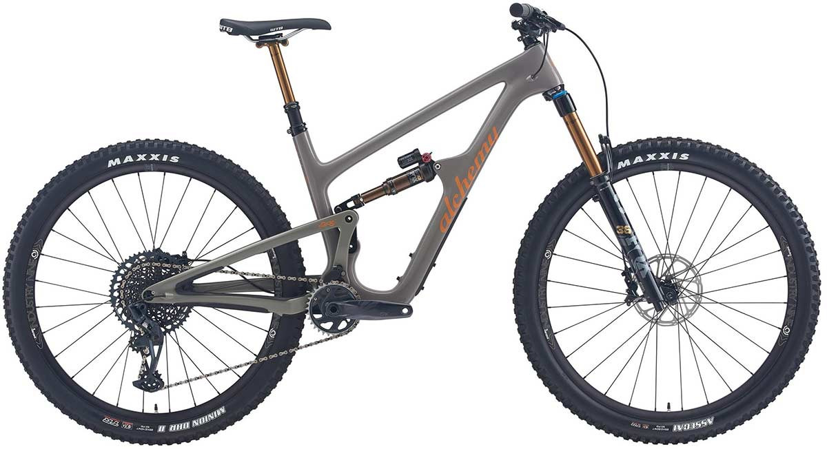 alchemy arktos full suspension mountain bike in stock available now