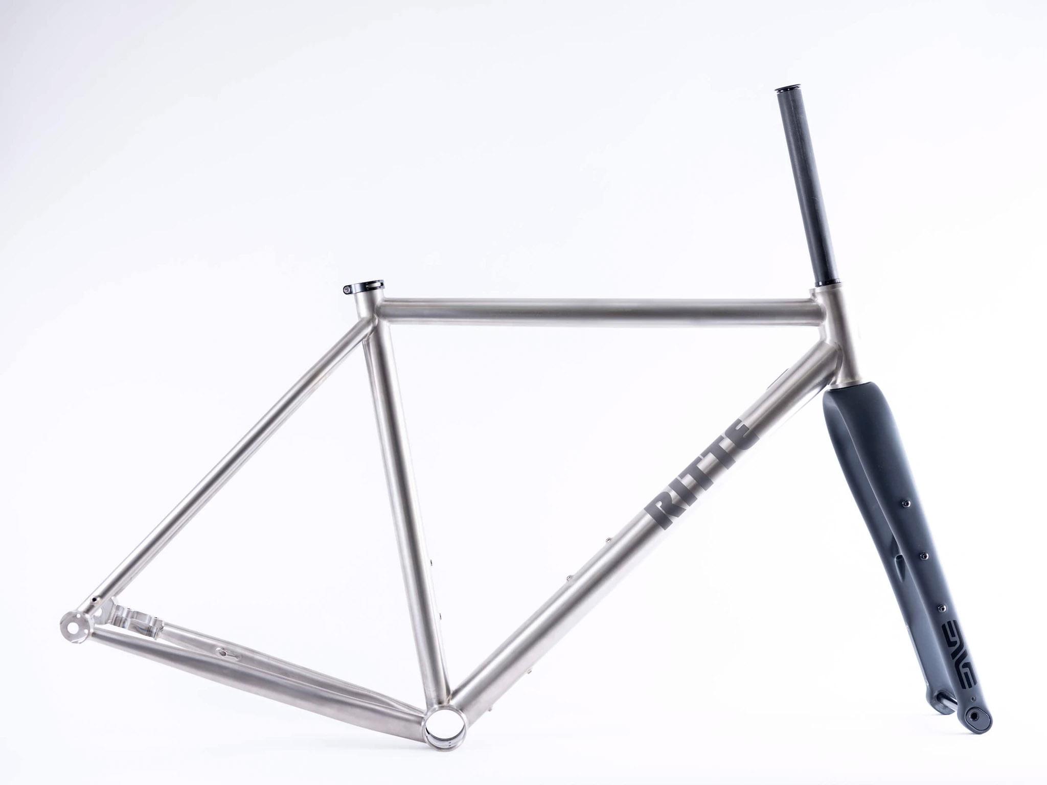 Ritte Satyr 2.0 titanium gravel frame with fork