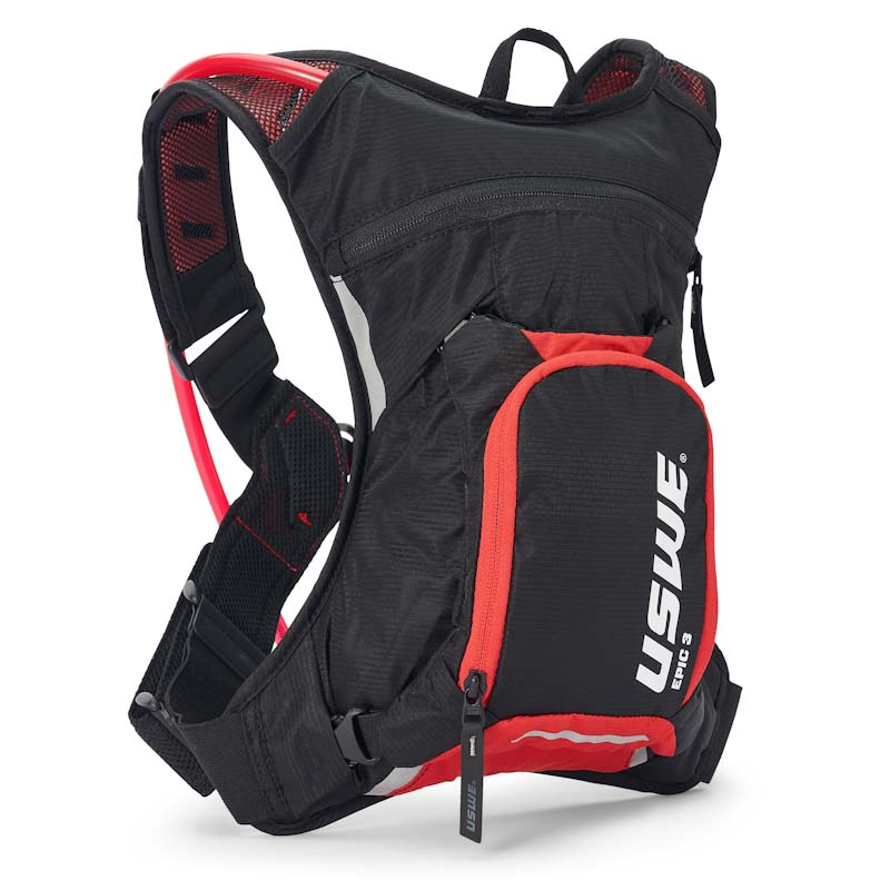 USWE Epic Series hydration pack, 3L, red