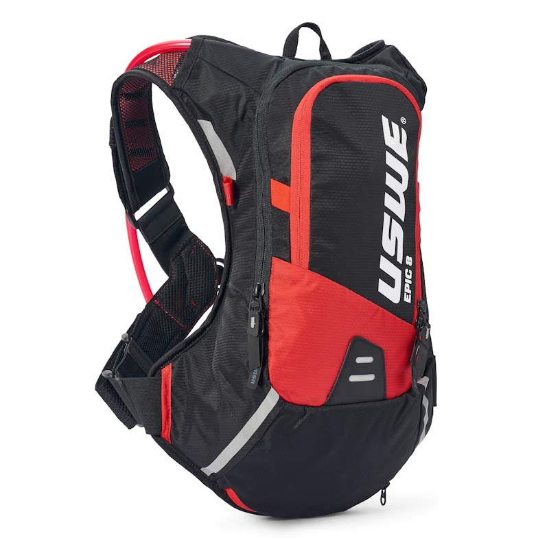USWE Epic Series hydration pack, 8L, red