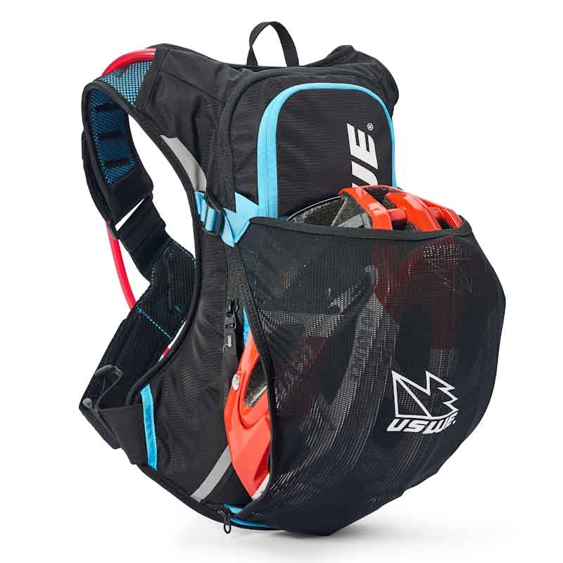 USWE Epic Series hydration pack, 8L with helmet