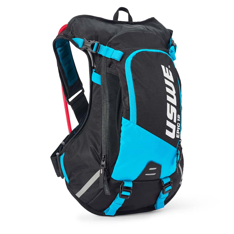 USWE Epic Series hydration pack, 12L, blue