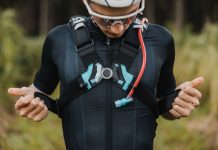 USWE Epic Series hydration pack, front