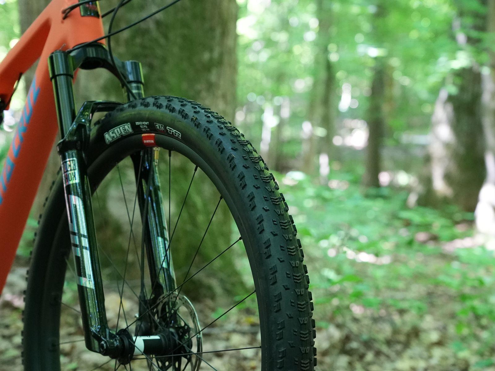Best MTB tire Maxxis Aspen