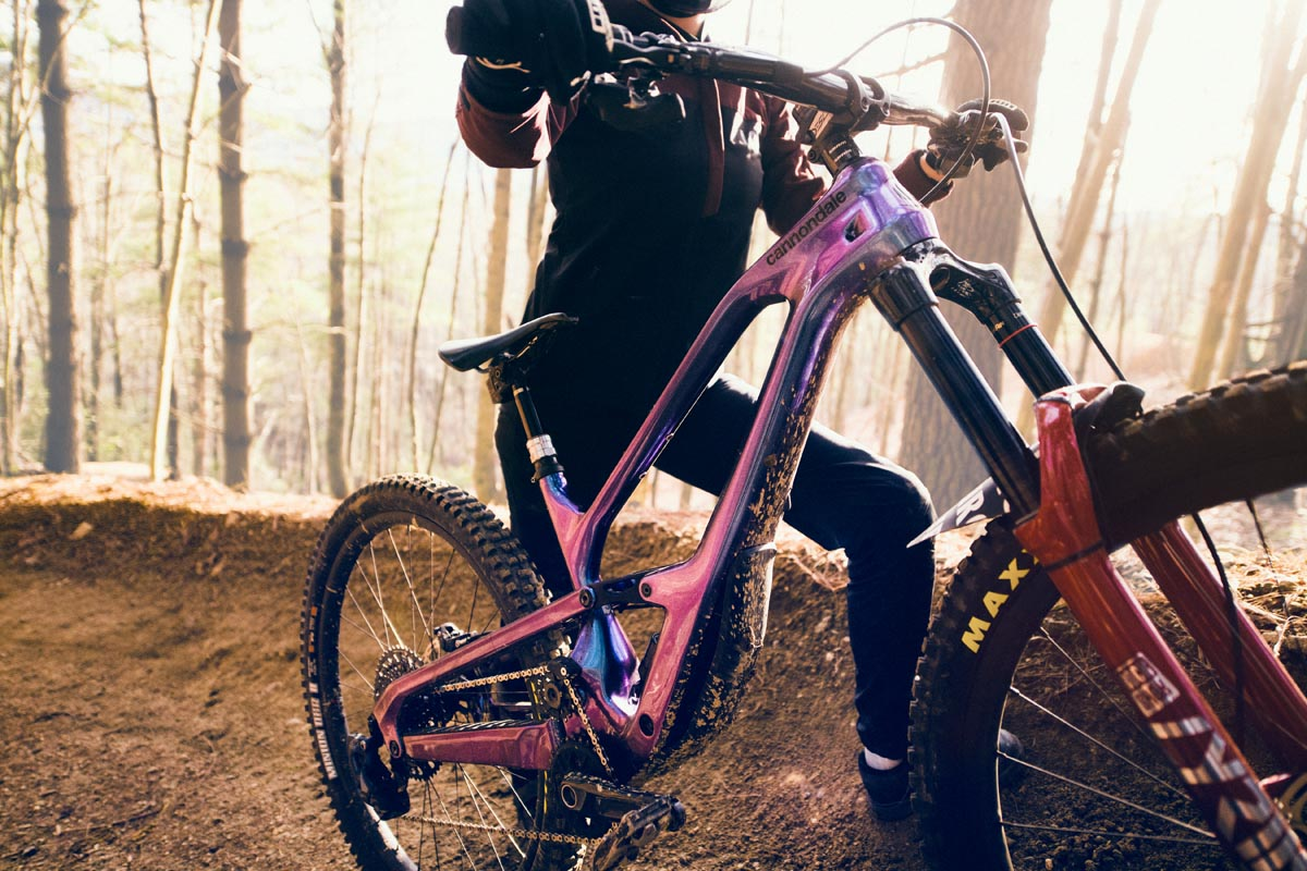 New Cannondale Jekyll hides shock, adds size-specific high pivot suspension w/ 'Guidler'