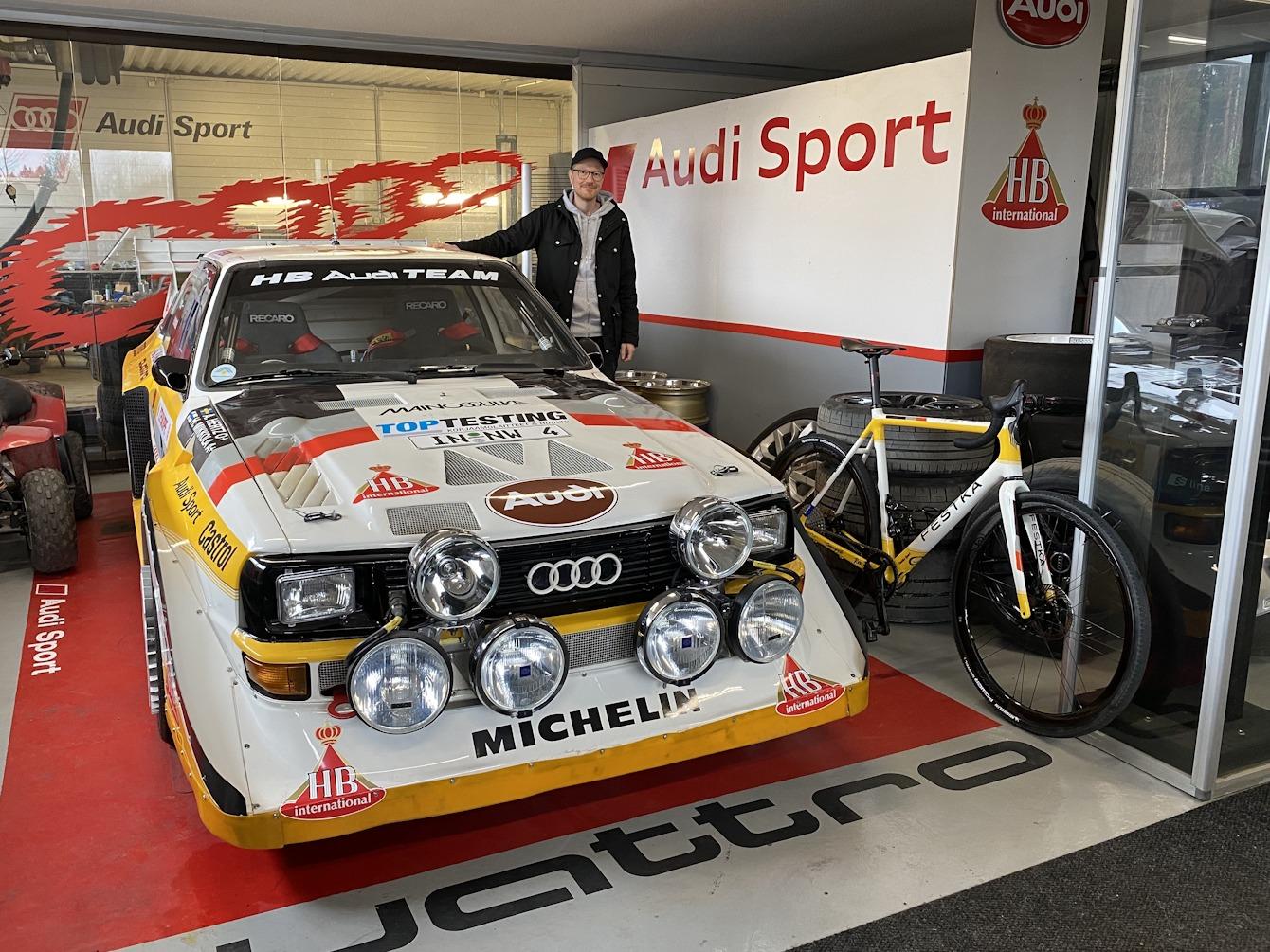 feskta antti and rally car