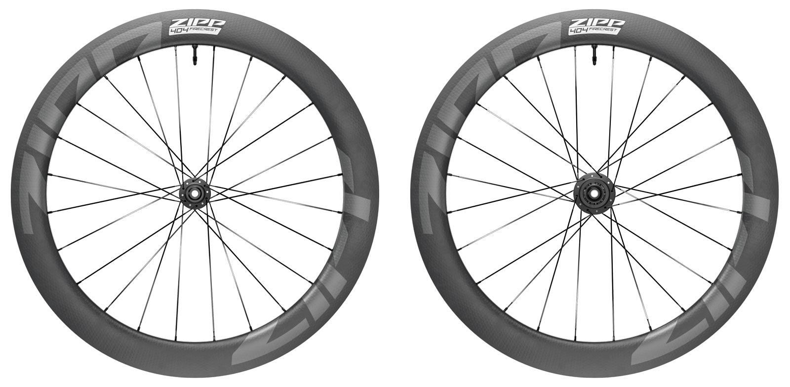 2022 zipp 404 firecrest tubeless ready disc brake road bike wheels