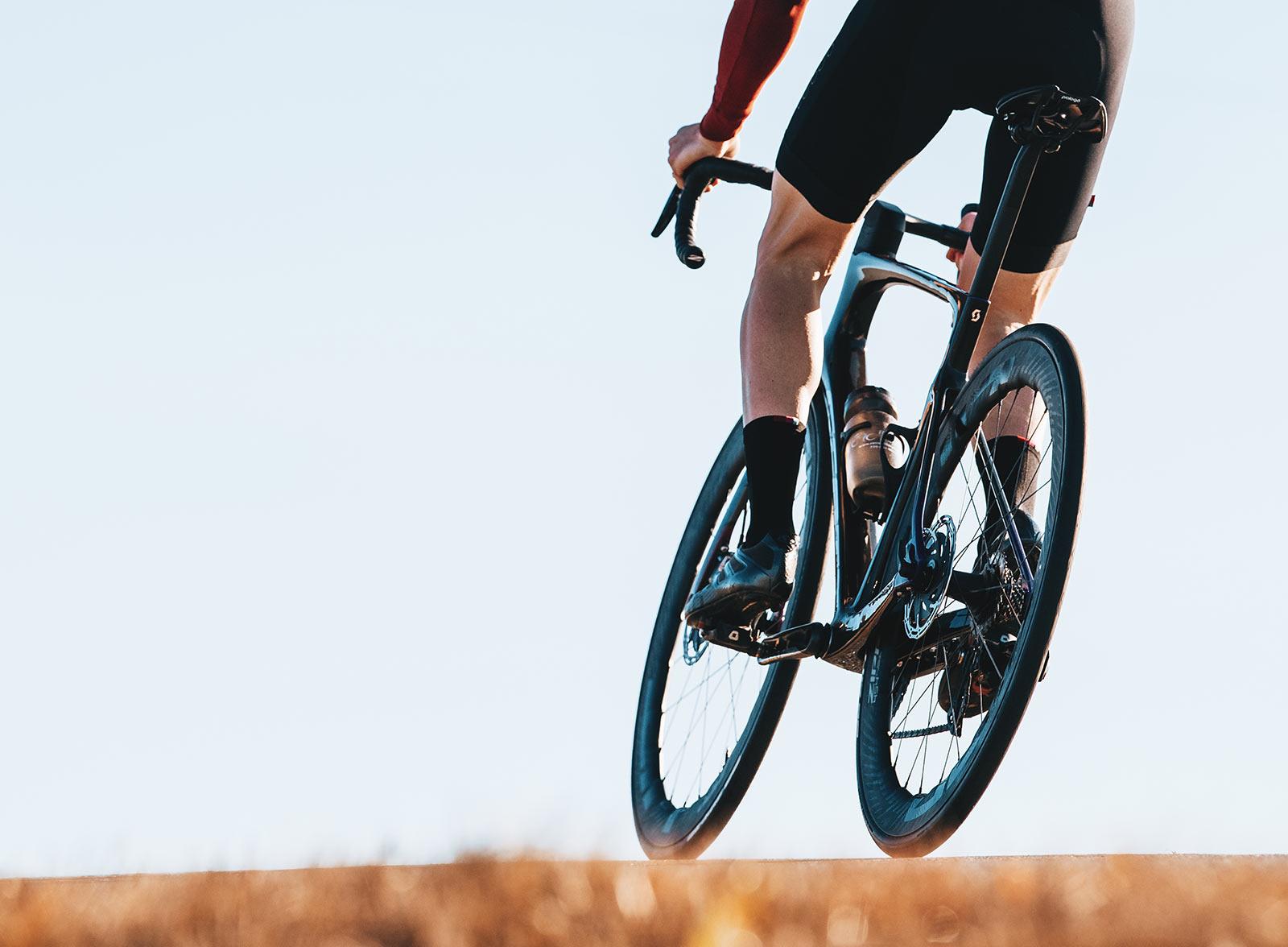rider on the new zipp 454 NSW tubeless road racing wheels