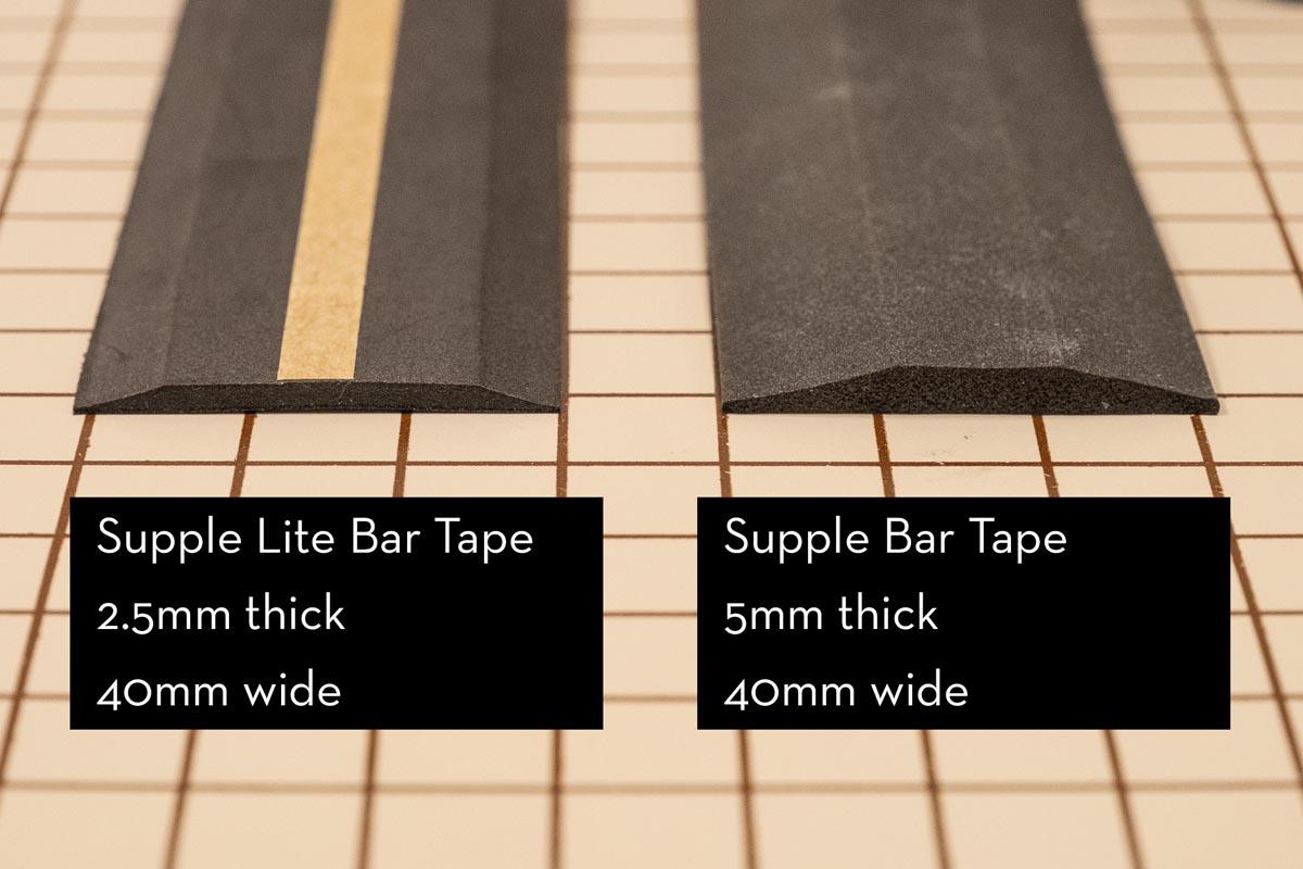 Wolf Tooth Supple Lite Bar Tape vs supple tape
