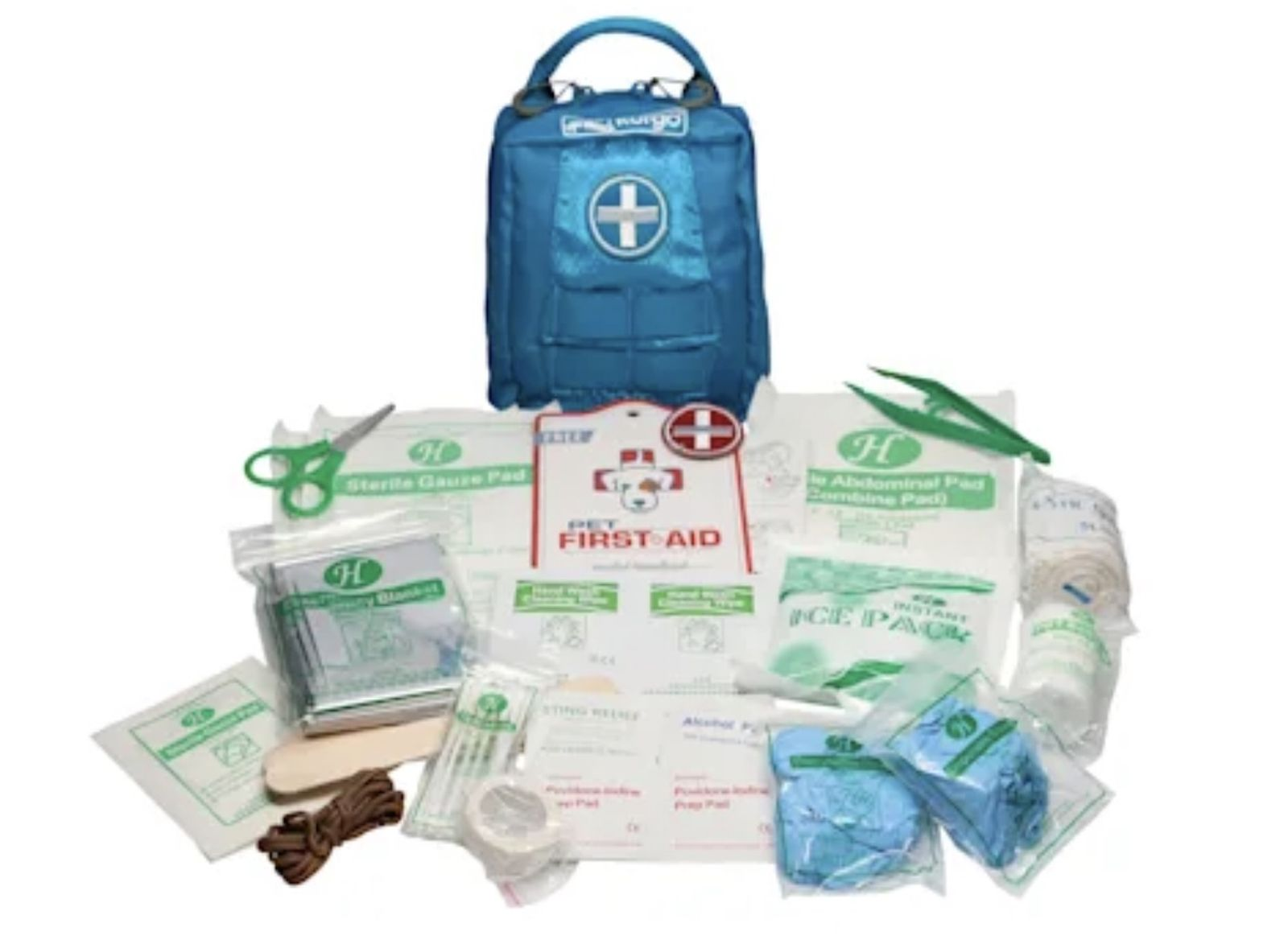 Kurgo Blue First Aid Kit for Dogs best trail dog gear