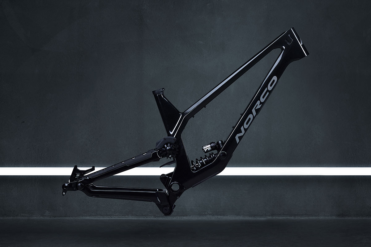 2022 norco range frame and shock coil