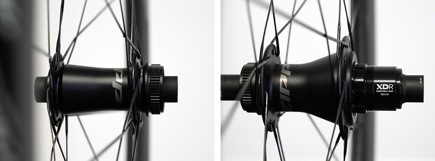 2022 zipp 404 firecrest aero road bike wheel closeup hub details and internals
