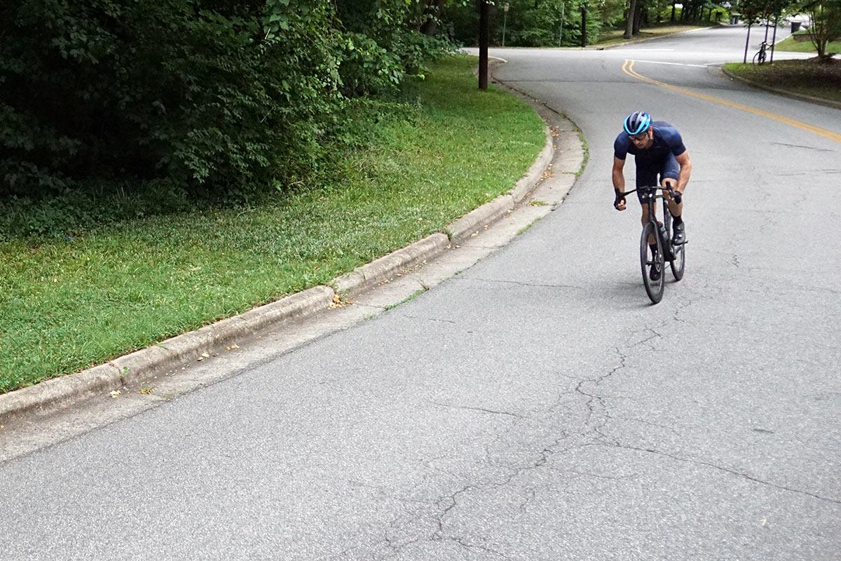 riding action for 2022 zipp 404 firecrest wheels review