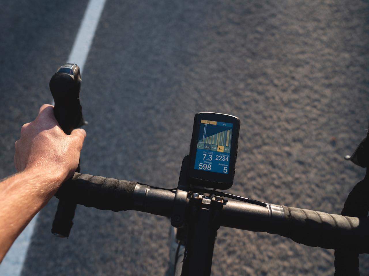 Hammerhead CLIMBER on bike