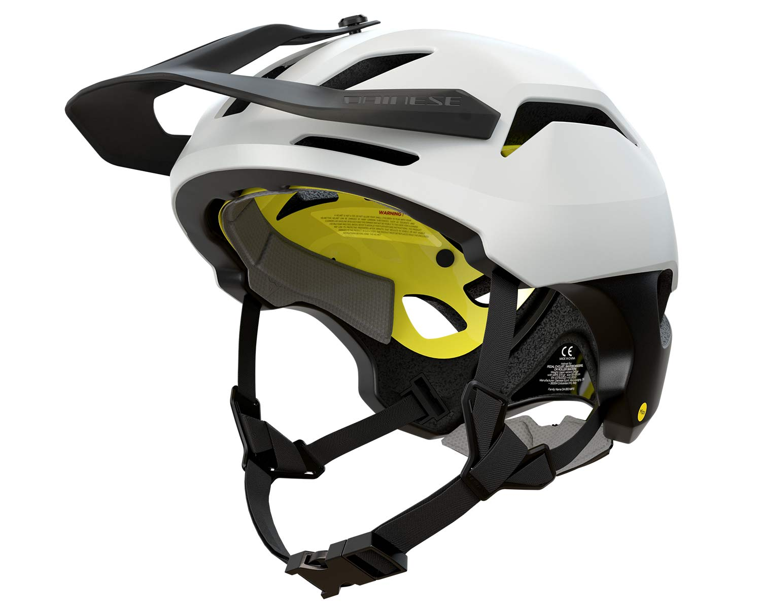 Dainese Linea 03 trail bike half shell helmet, lightweight MIPS Recco MTB protection at 370g