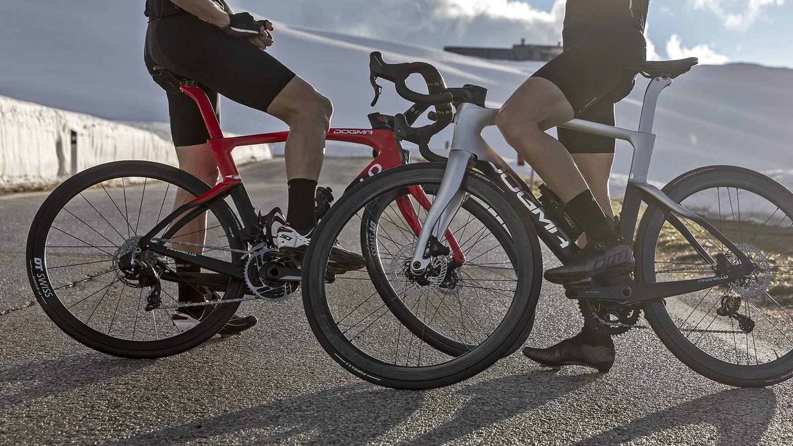 2022 Pinarello Dogma F curvy aero carbon road race bike, disc brake