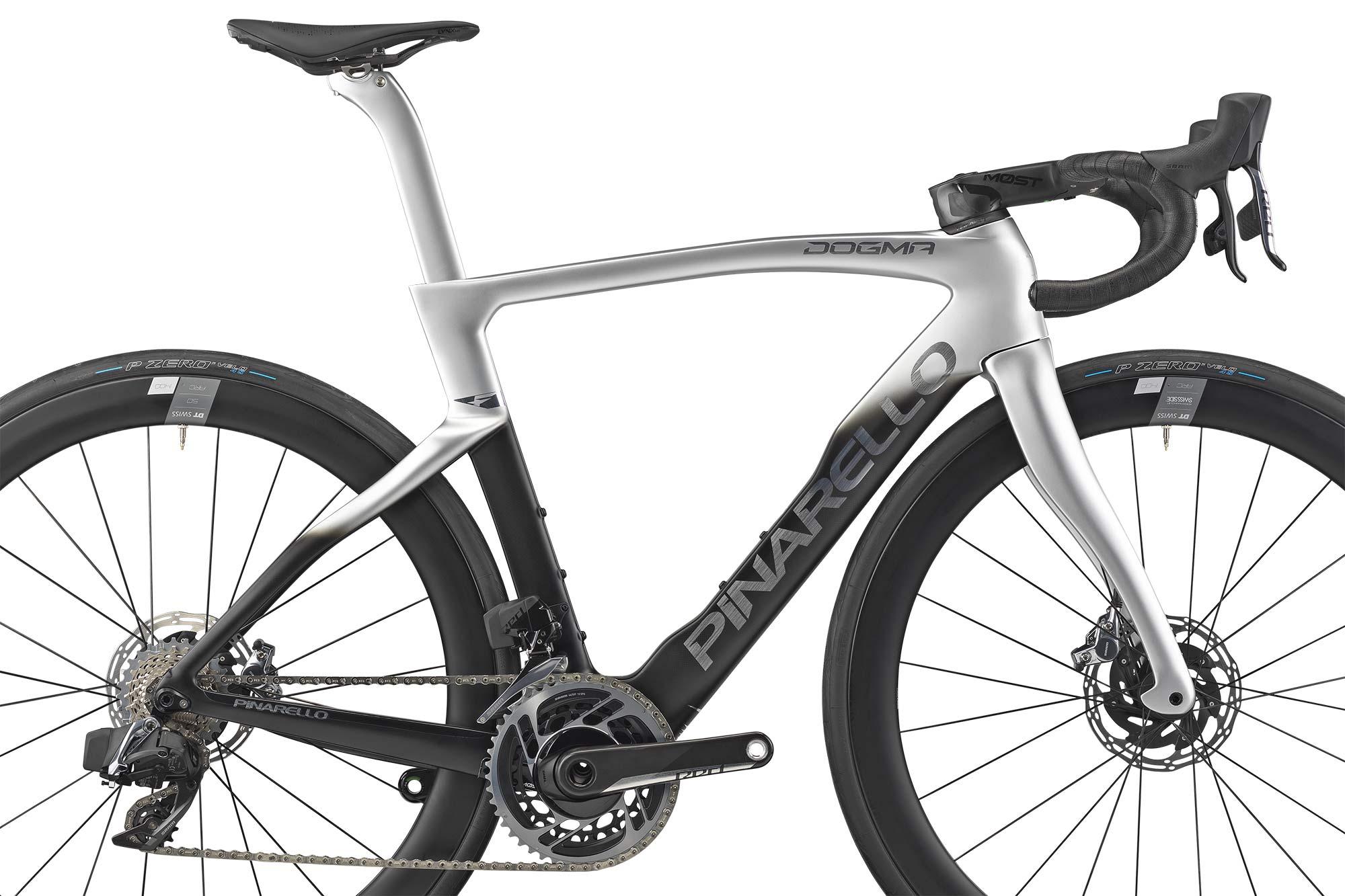 2022 Pinarello Dogma F curvy aero carbon road race bike, disc brake frameset