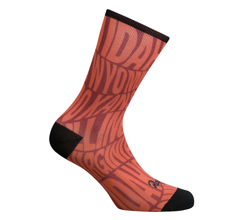 Rapha Nomad women's collection, Nomad graphic sock