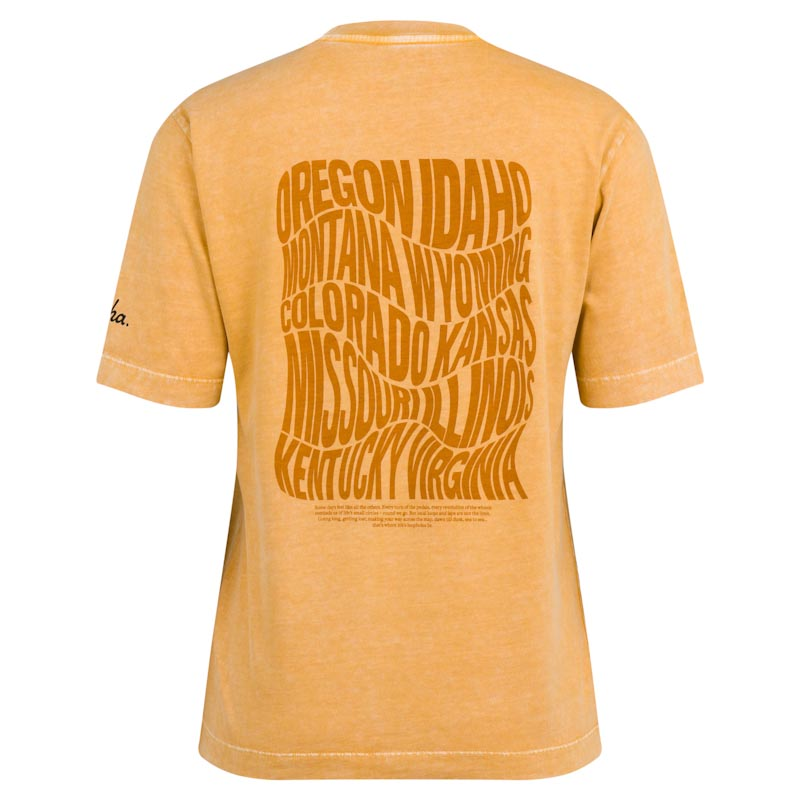 Rapha Nomad women's collection, cotton tee