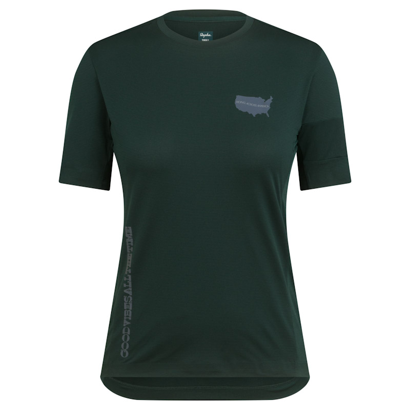 Rapha Nomad women's collection, technical tee
