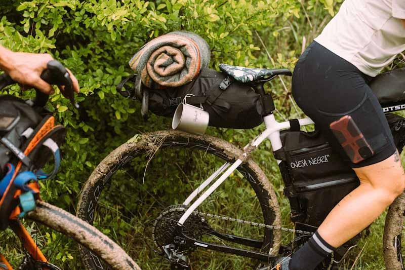 Rapha x Snow Peak bikepacking collection