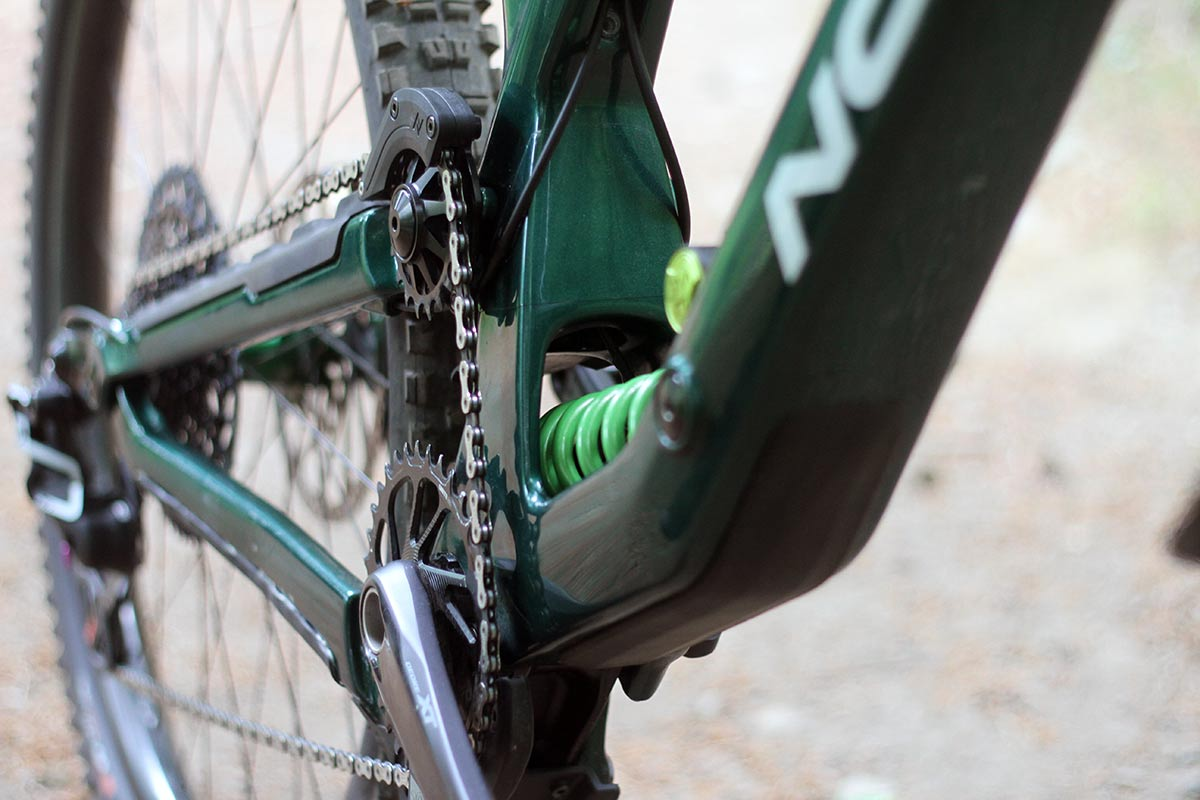 lewis buchanan 2022 norco range pro bike check dvo coil shock prorate spring