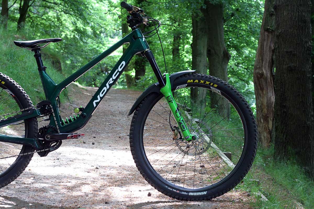 lewis buchanan 2022 norco range pro bike check dvo onyx air fork