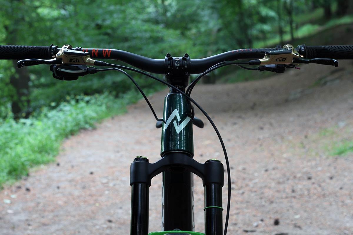 lewis buchanan 2022 norco range pro bike check pnw cockpit