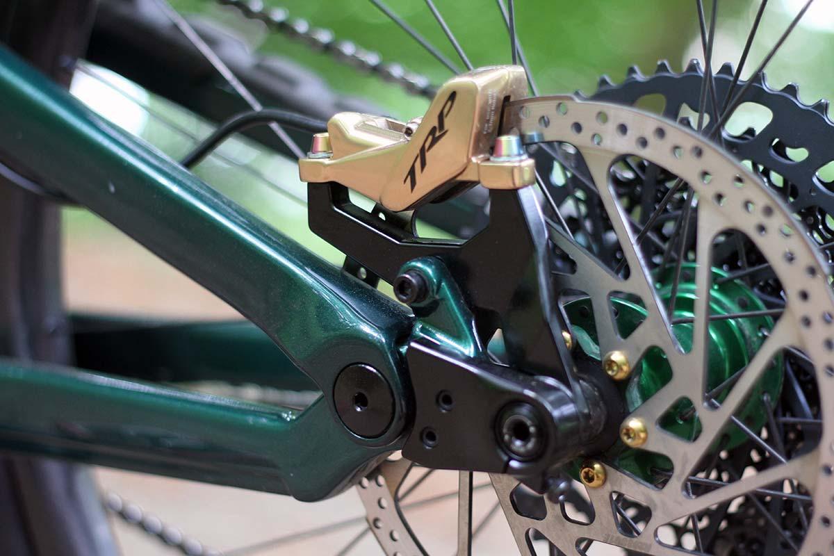 lewis buchanan 2022 norco range pro bike check trp brakes