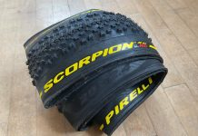 "Pirelli Scorpion XC RC 2.4"" light wide mountain bike cross-country race tire"