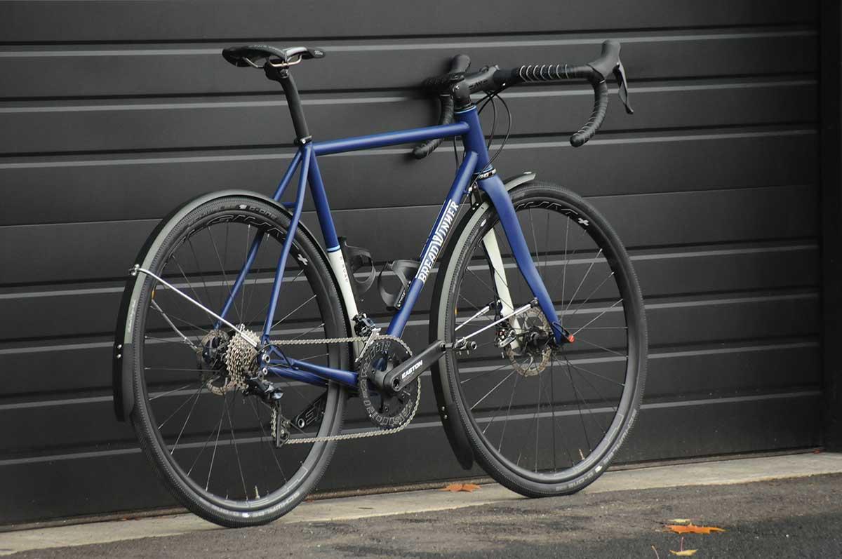 breadwinner cycles steel road frame blue