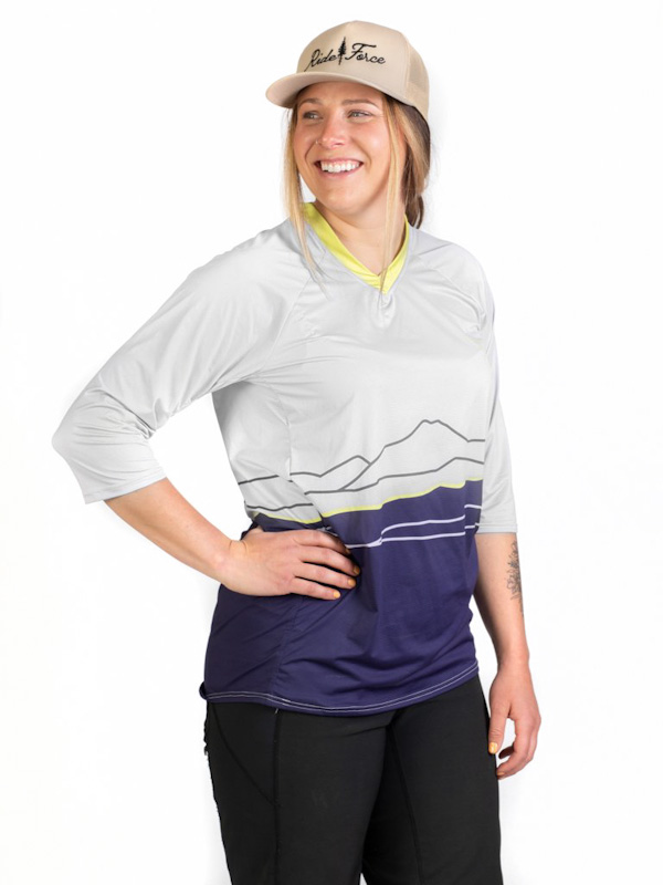 Ride Force Signature jersey, 3/4 sleeve