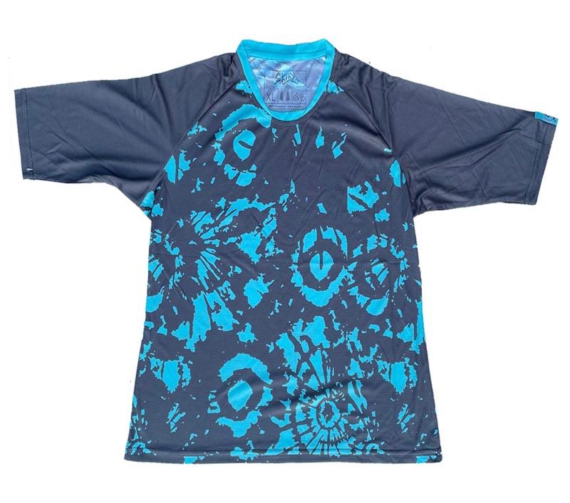 Skidz MTB, tie-dye 3/4 jersey