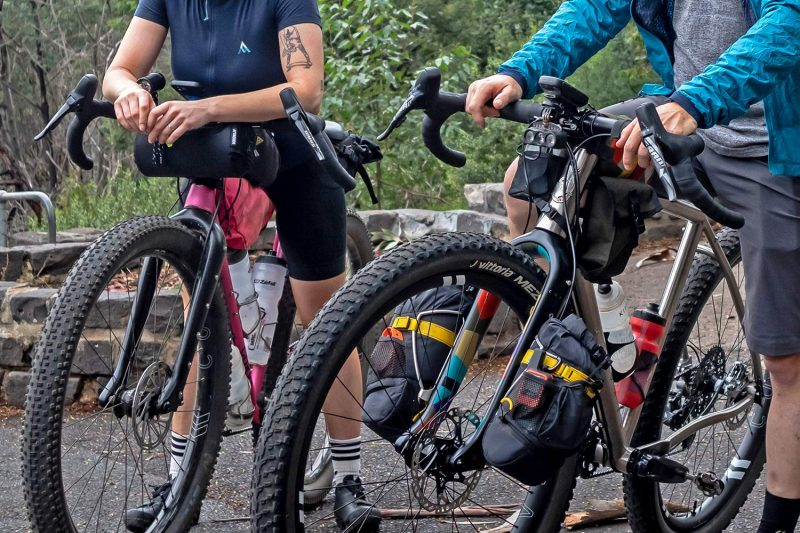 "Curve GMX+ Carbon monster gravel off-road adventure bikepacking fork for 29x3"" tires"