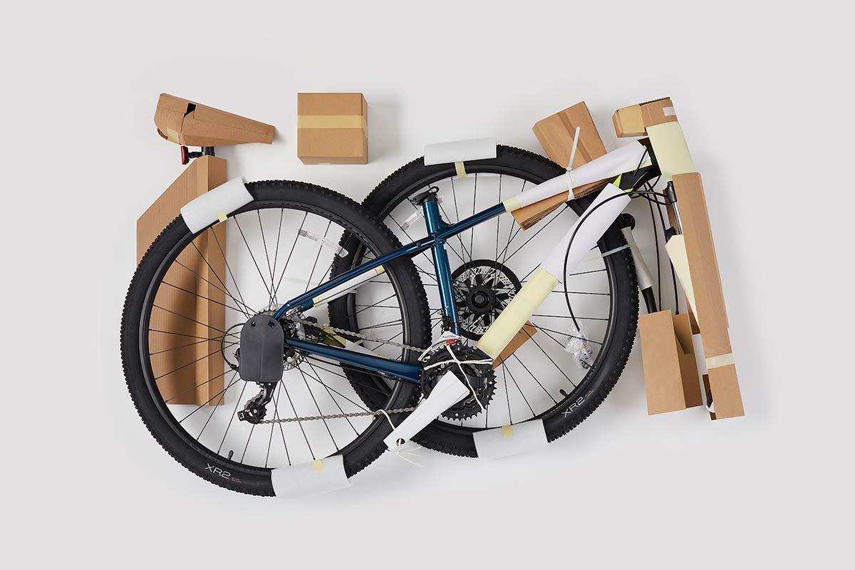 trek marlin bike packaging reduction plastic waste bicycle delivery