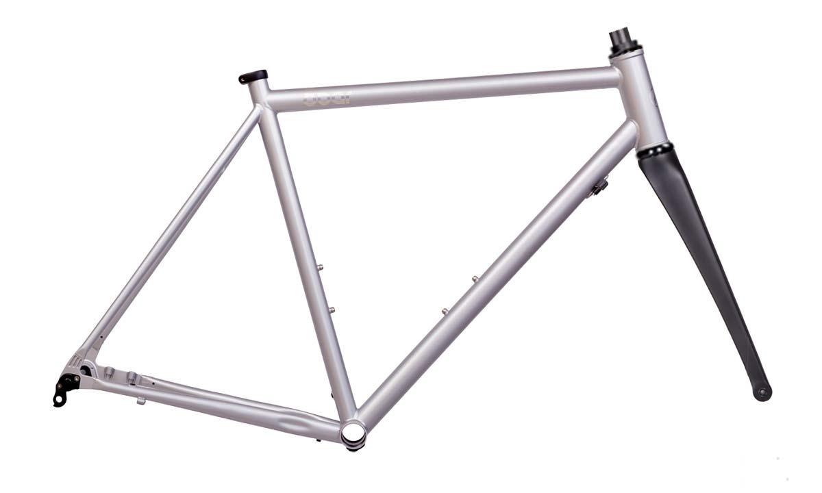 8bar Kronprinz Steel v1 affordable modern disc brake road bike, frameset