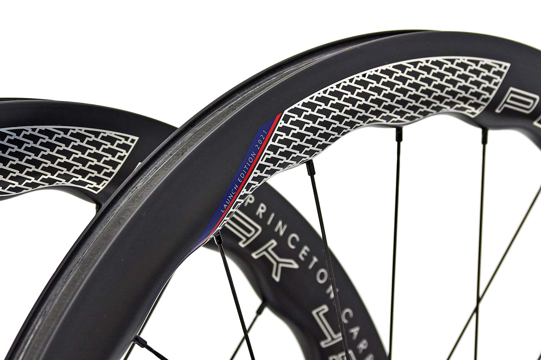 Princeton CarbonWorks Peak 4550 Launch Edition lightweight carbon aero road wheels